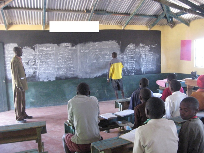 Mathematics Teacher and Classroom